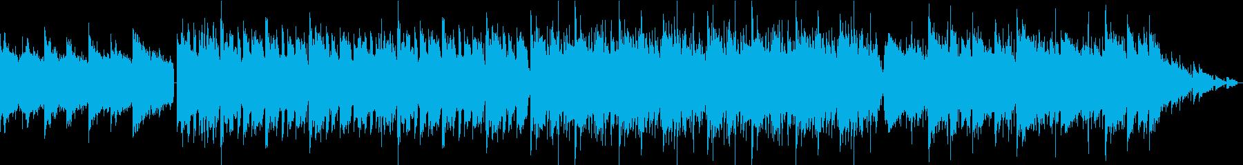 チルアウト ジャジーな ローファイビートの再生済みの波形