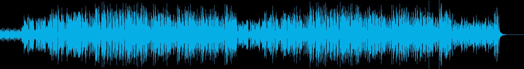 昭和歌謡風ポップス コミカルで元気 フルの再生済みの波形