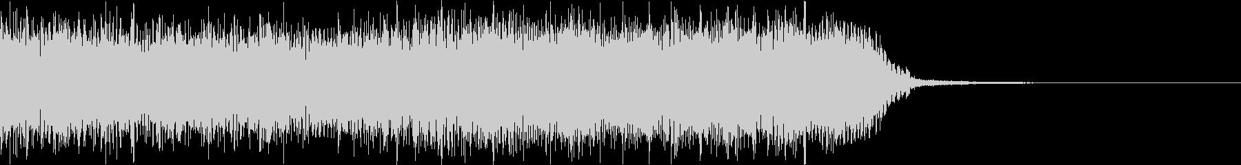 エネルギッシュ・ロックなサウンドロゴ08の未再生の波形
