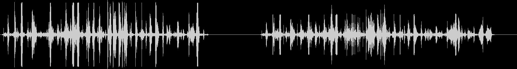 戦闘シーン、2つのバージョン、処理...の未再生の波形