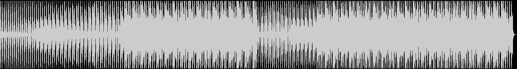 ブリッとしたシンセがリードの四つ打ちの未再生の波形