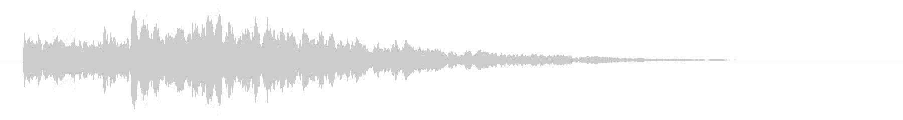 システム・ボタン音3の未再生の波形