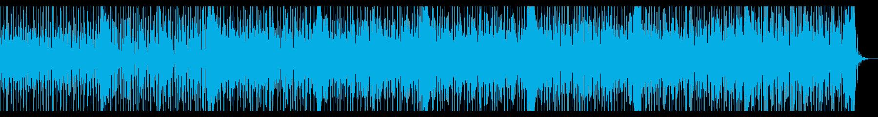 切ないメロディとノリノリのリズムの再生済みの波形