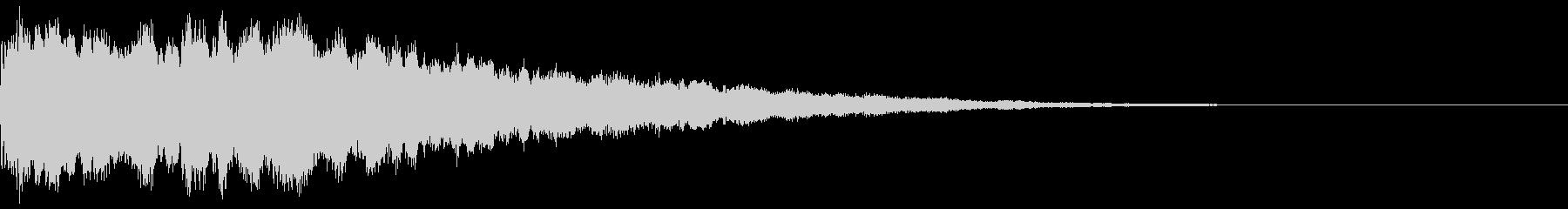 ビションフワーピチョー…(ミステリー)の未再生の波形