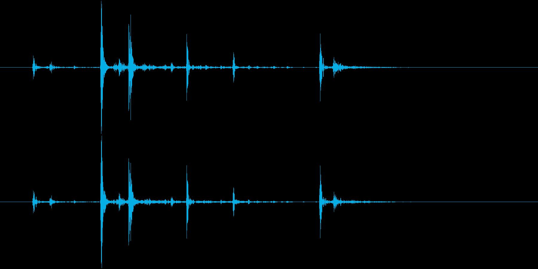 Anime 指の関節を鳴らす音 2の再生済みの波形