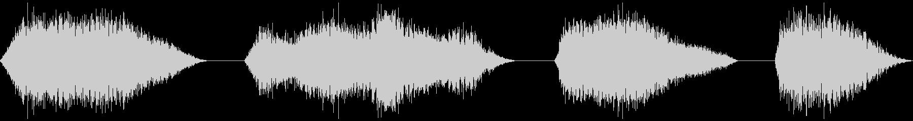 スペーススフィア、4バージョン、振...の未再生の波形