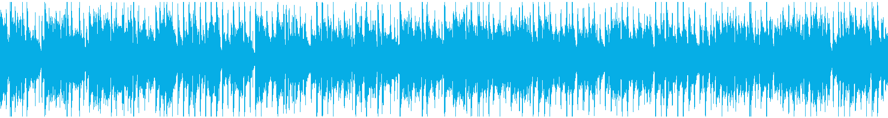 かっこいいクラブジャズ ※ループ仕様版の再生済みの波形