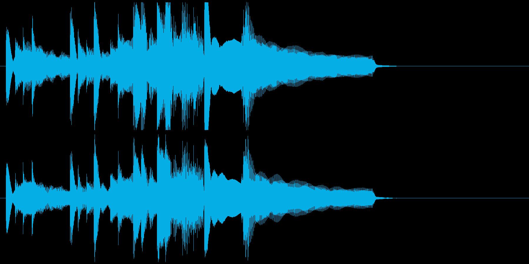 朗らかで穏やかなアコギジングルの再生済みの波形