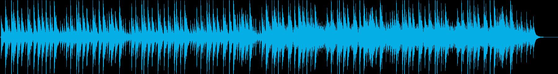 蛍の光のオルゴールバージョンですの再生済みの波形