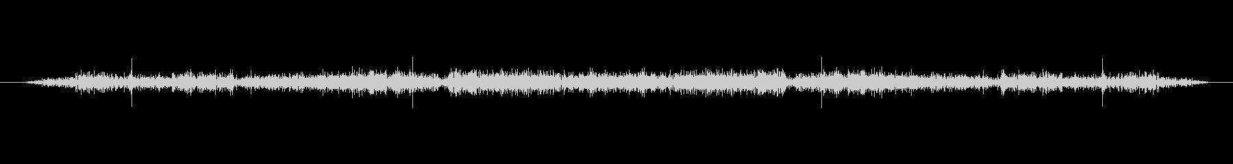 ラジオスタティック、トランシーバーの未再生の波形