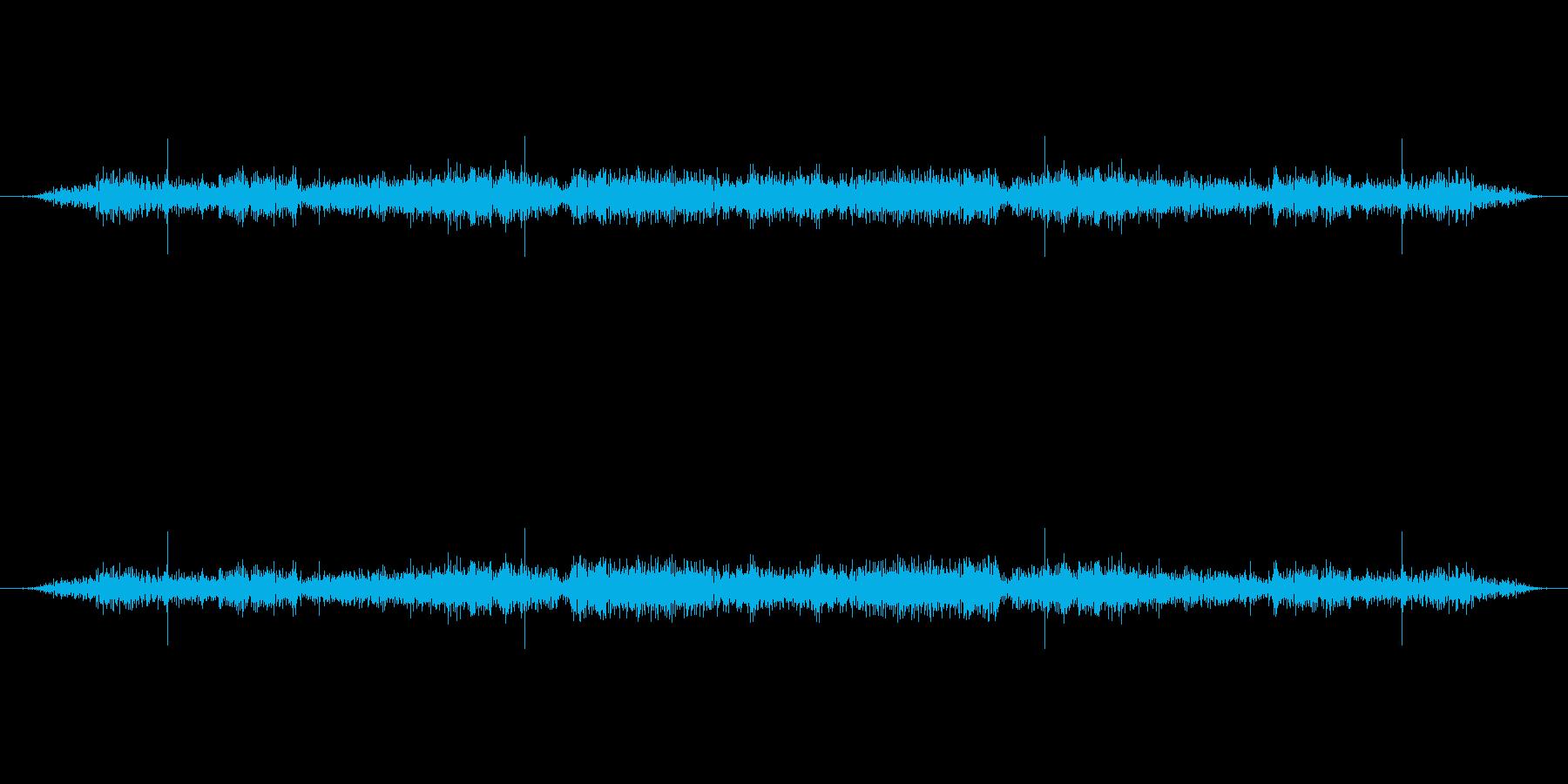 ラジオスタティック、トランシーバーの再生済みの波形