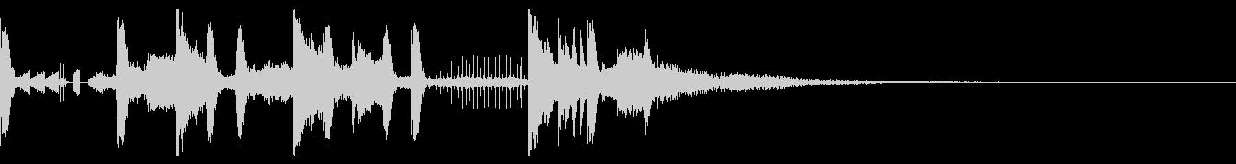 Tonal FX、140 BPMの未再生の波形