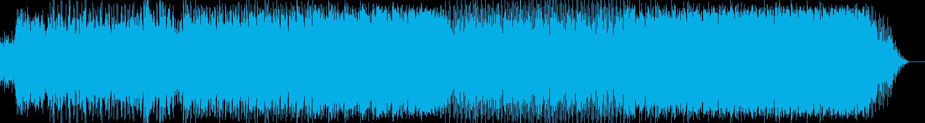 ノスタルジックで不思議な感覚のバラードの再生済みの波形