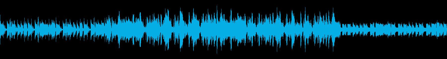 ループ仕様のR&B系楽曲の再生済みの波形
