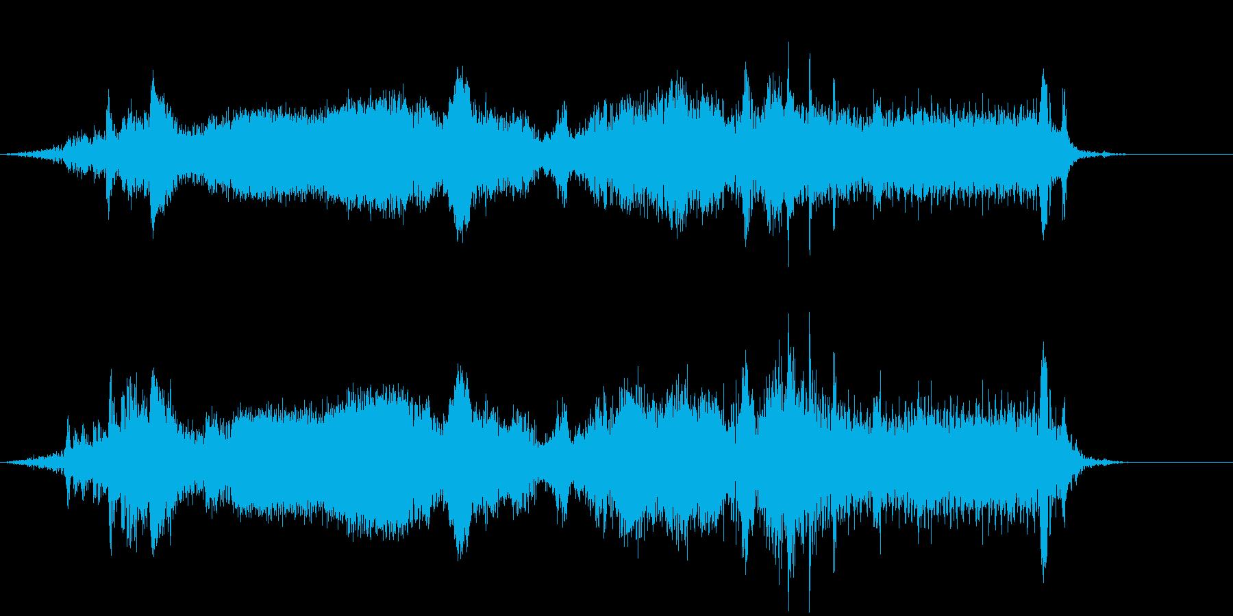 ピータービルトセミトラック:スロー...の再生済みの波形