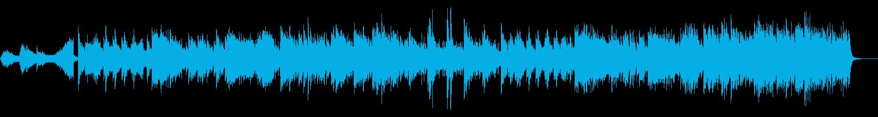 和風アンビエントの再生済みの波形