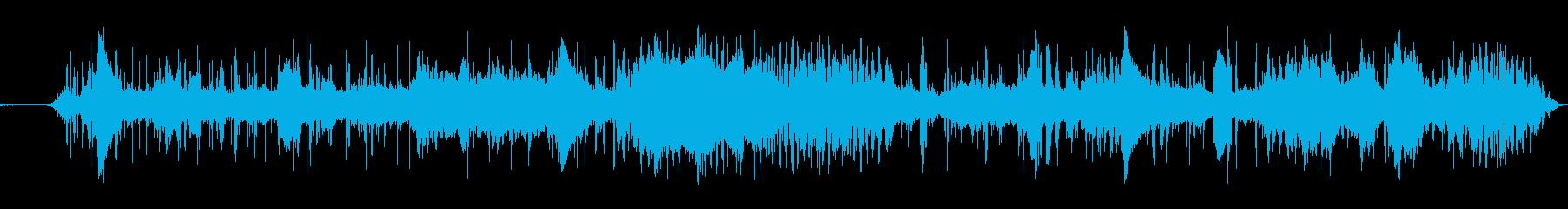 世界の果ての壁の外の世界 前衛音楽の再生済みの波形