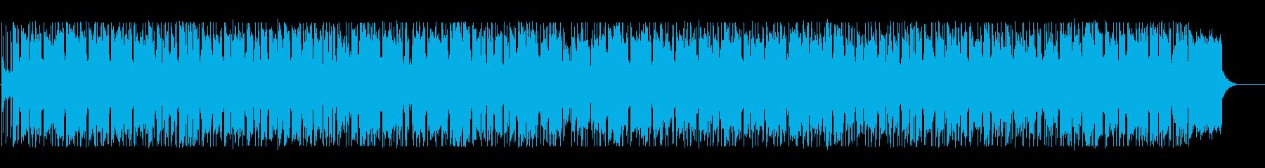 優しくメロウなBGMの再生済みの波形