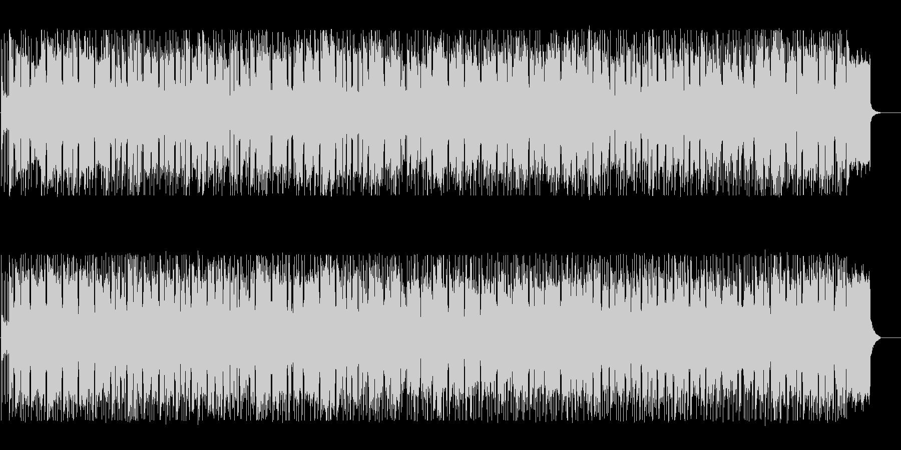 優しくメロウなBGMの未再生の波形