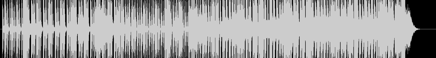 フリースタイル ラップバトル用音源の未再生の波形