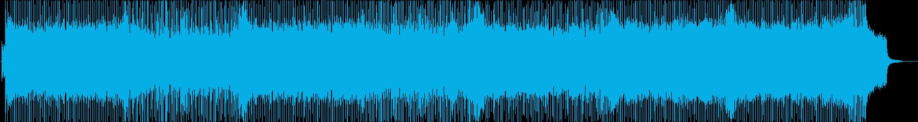 「宿命の戦い」的なストリングス主体BGMの再生済みの波形