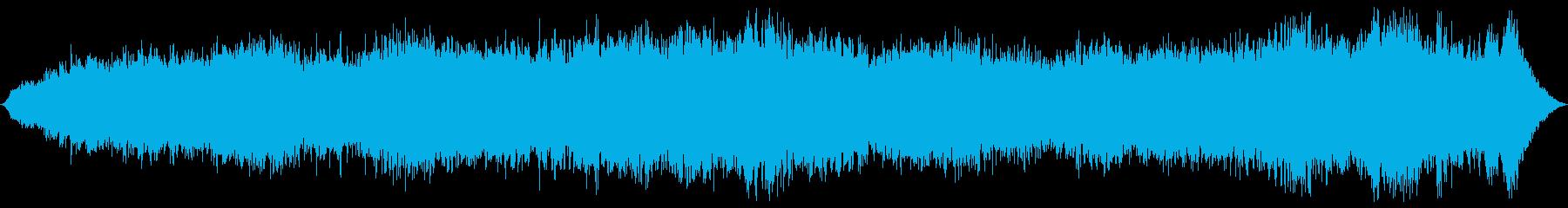 ドローン まれに調和01の再生済みの波形