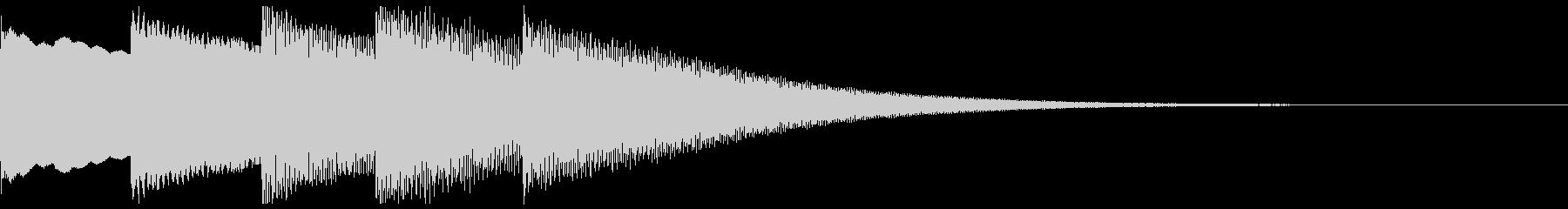 不穏なベルのMEの未再生の波形