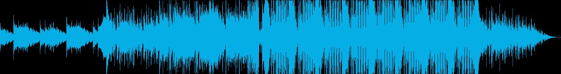 明るくおしゃれで爽やかなエレクトロの再生済みの波形