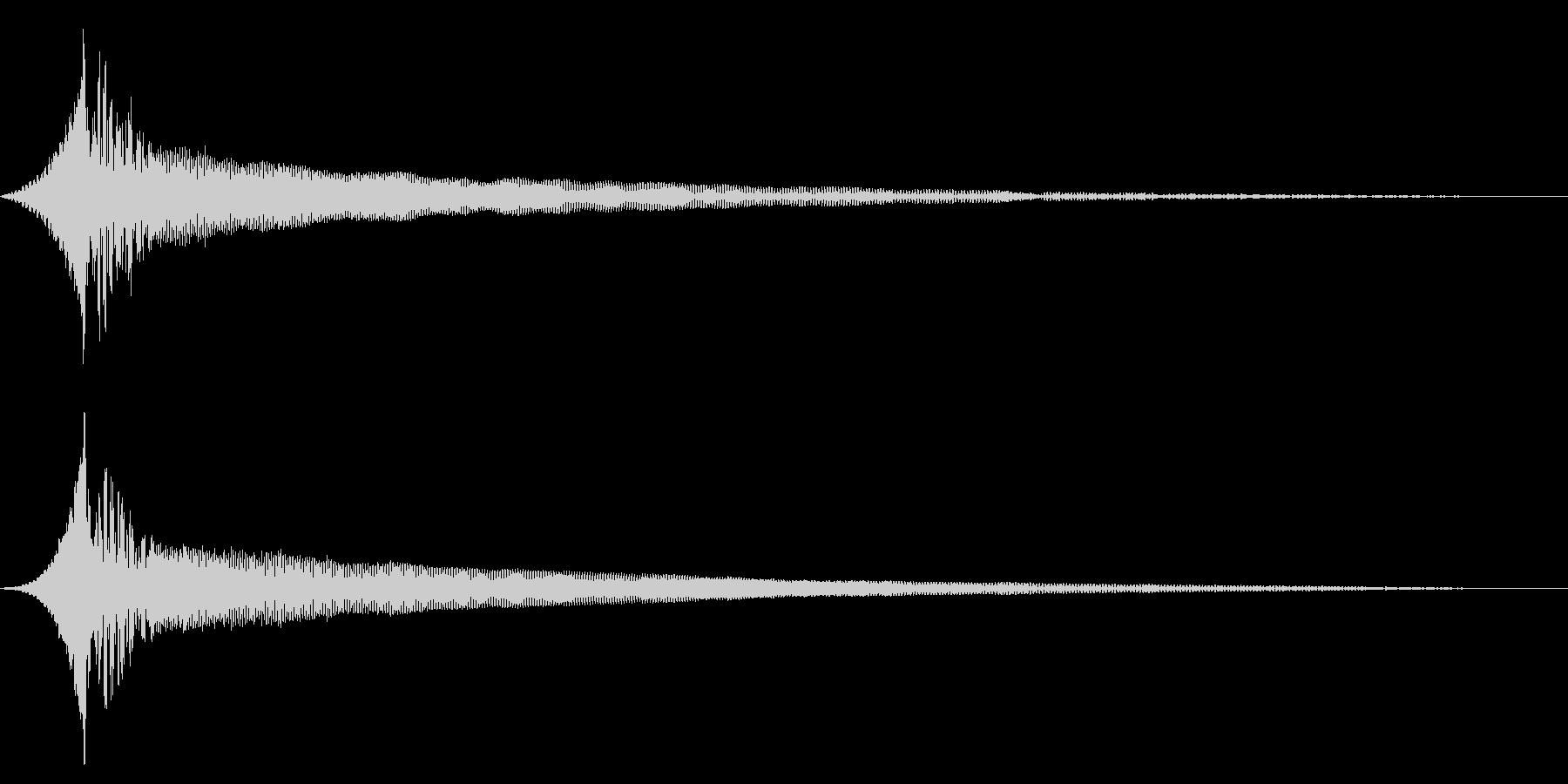 ホラー系アタック音68の未再生の波形