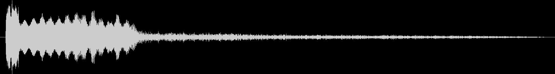 SF的な移動音の未再生の波形