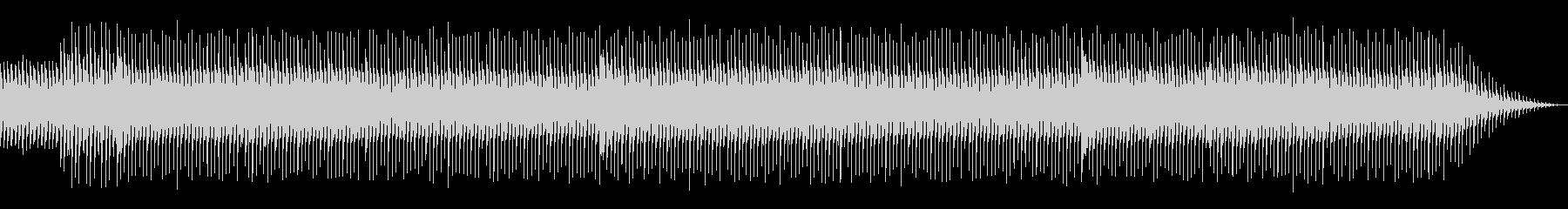 ちょっと切ない爽やか電子音楽_Cメロなしの未再生の波形