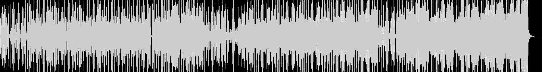 ストリート育ちイメージのヒップホップ Cの未再生の波形