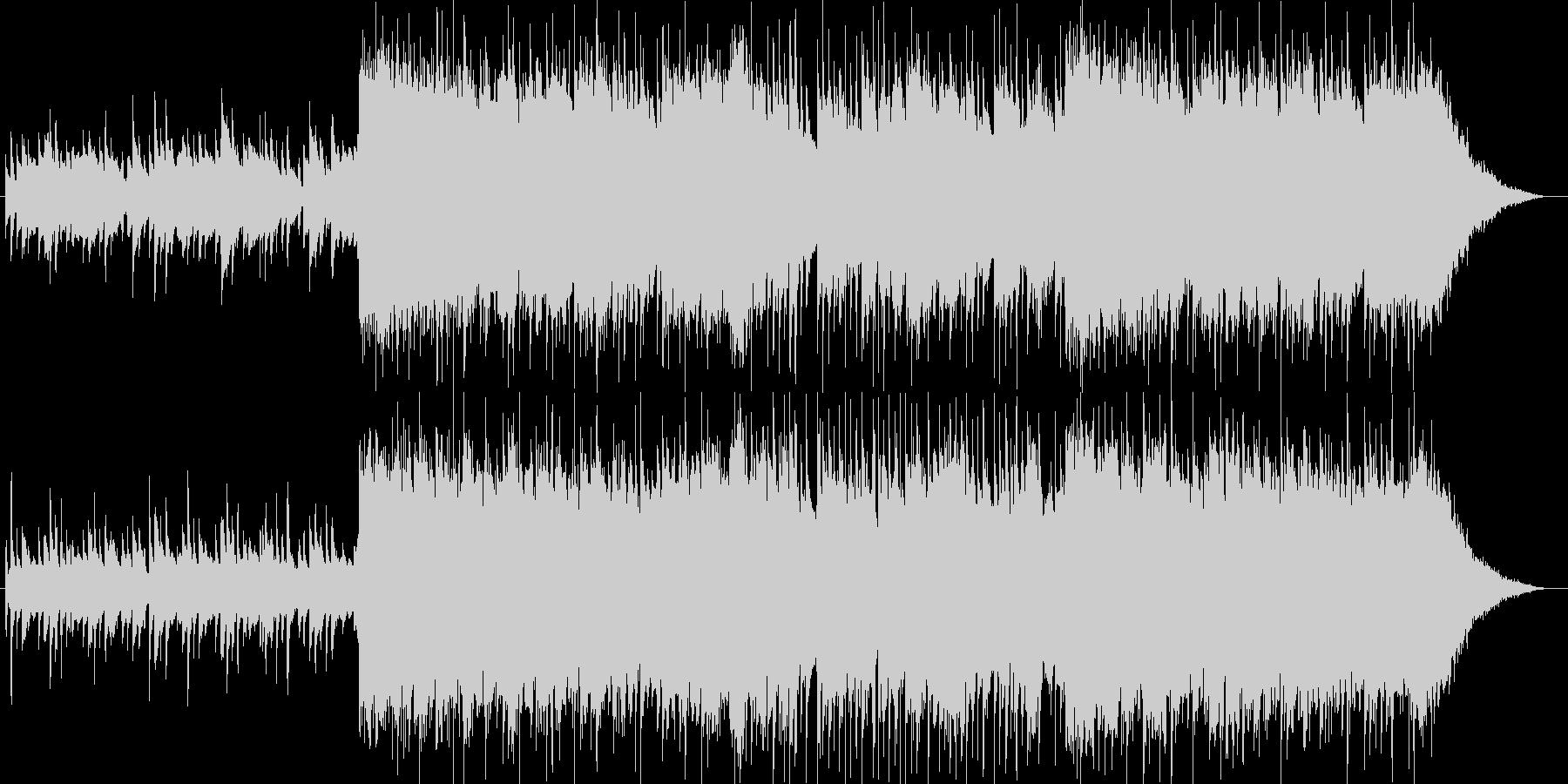 琴、尺八、三味線、切なく壮大な和風曲3の未再生の波形