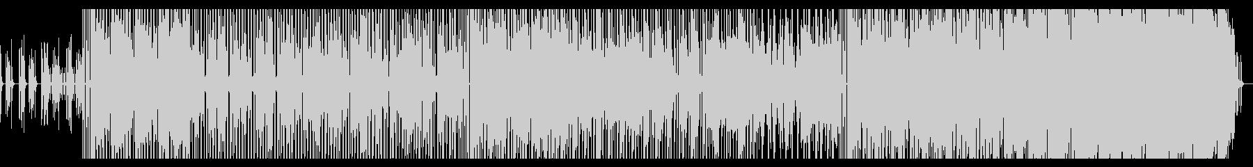 1970年代のファンク・ロック風インストの未再生の波形