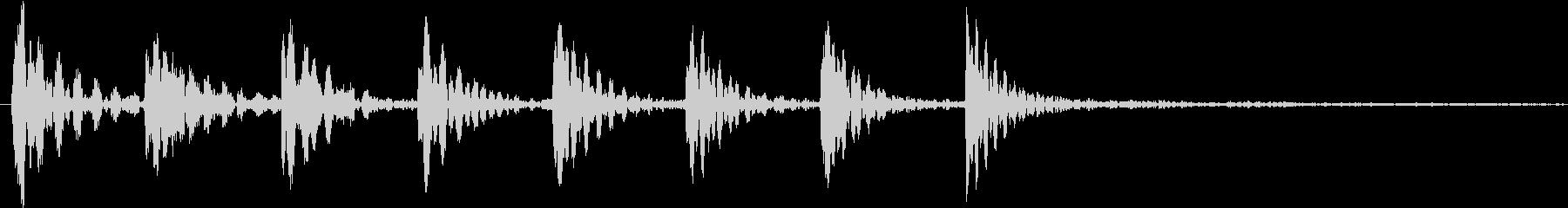 Youtuber用 可愛い系SE2の未再生の波形