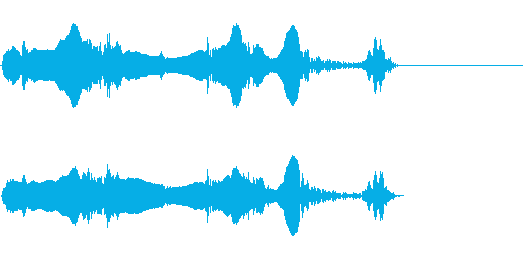 尺八 生演奏 古典風#14の再生済みの波形