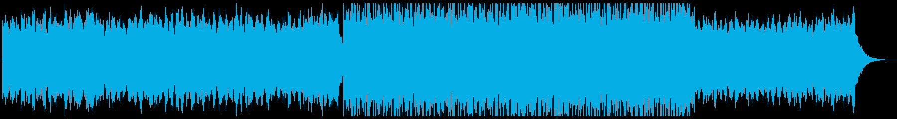 壮大でオリエンタルなシネマティック曲・Hの再生済みの波形