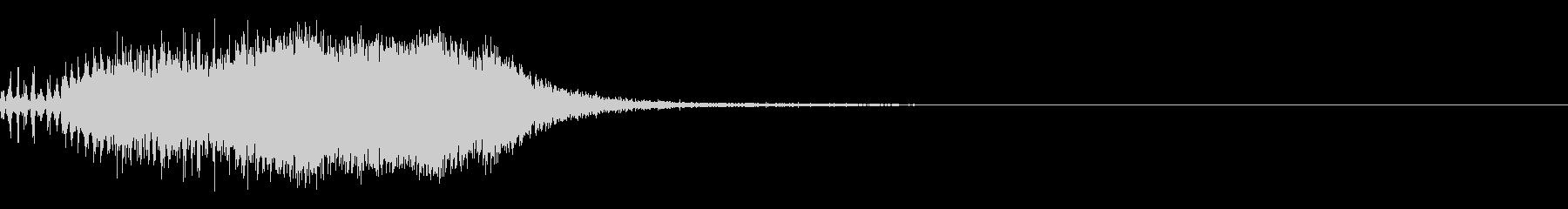スパーク音-40の未再生の波形