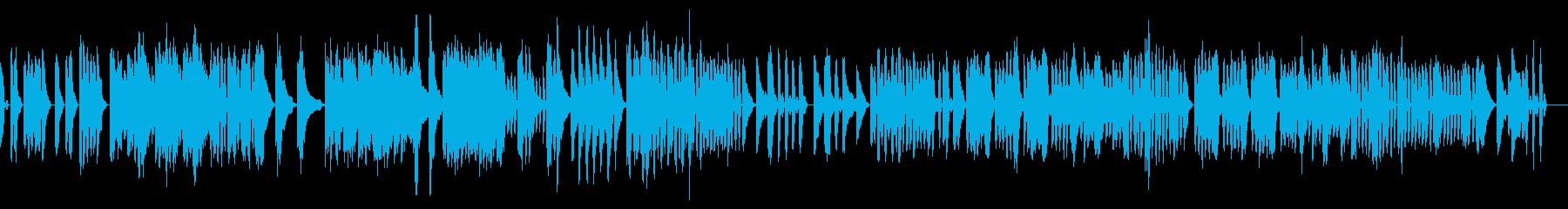 アイネクライネ軽快なシンセ ショートtrの再生済みの波形