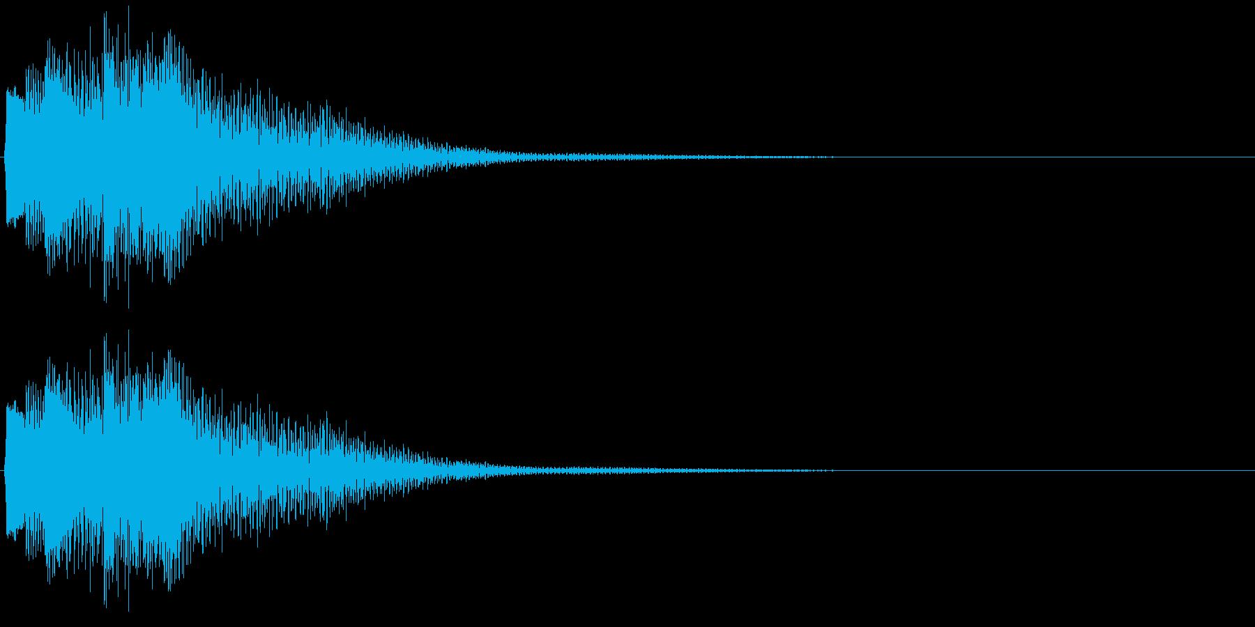 決定・空気感・暗め・ネガティブ7の再生済みの波形
