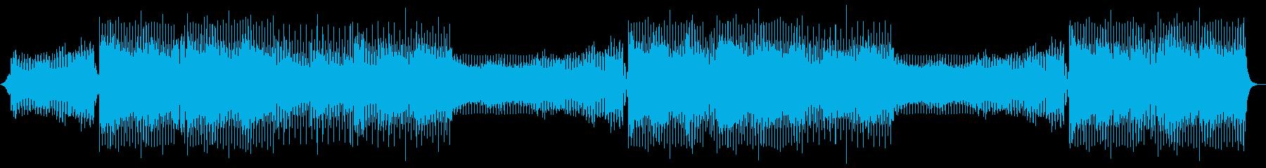 バイオリンとシンセメロなしの再生済みの波形