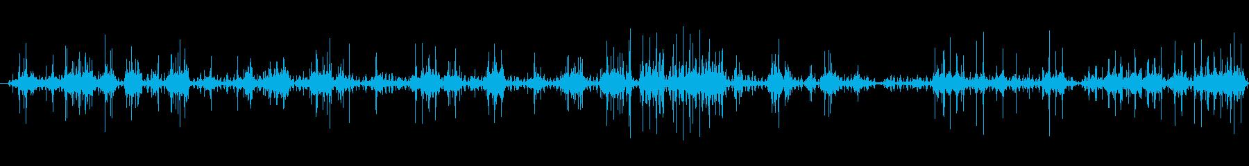 電気アーク:長いソフトバーストの再生済みの波形
