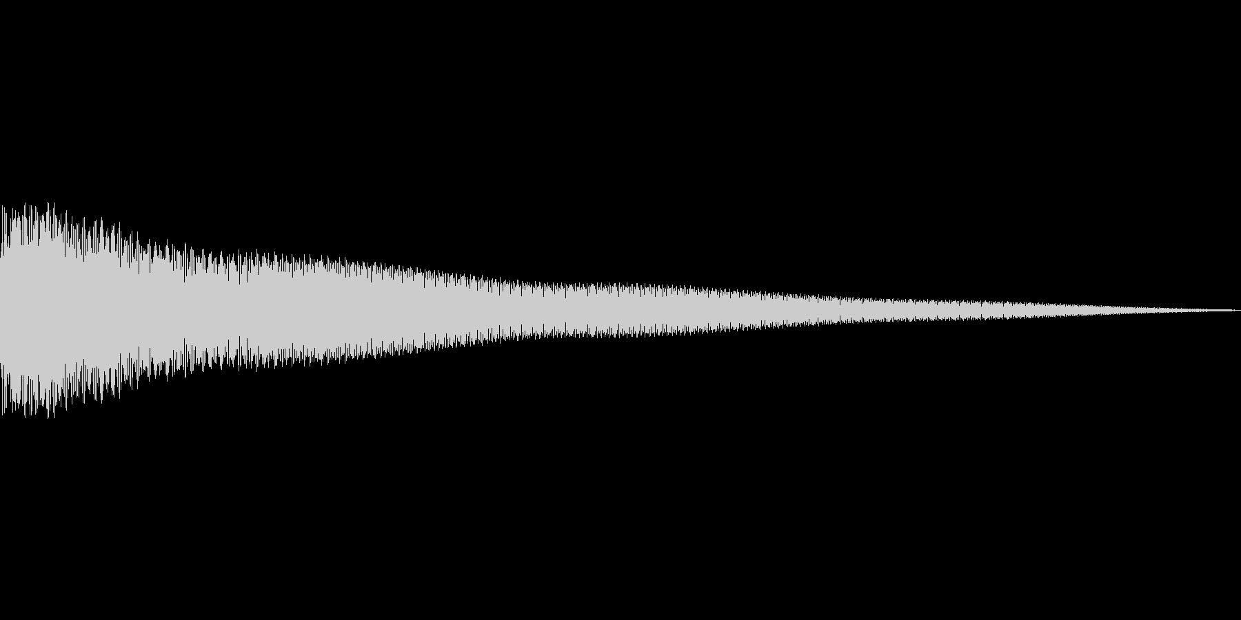 カーンの未再生の波形