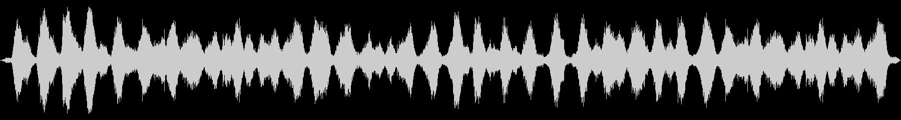 海洋:重い波、遠くのカモメに来る二重波の未再生の波形