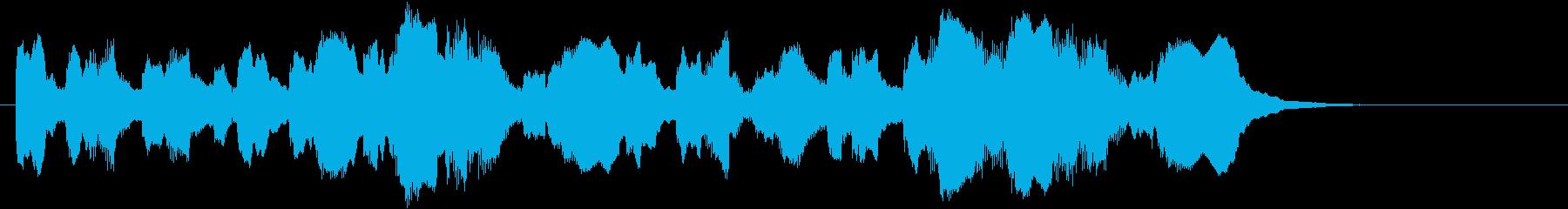 日本陸軍 突撃(出撃)ラッパ 高めの再生済みの波形