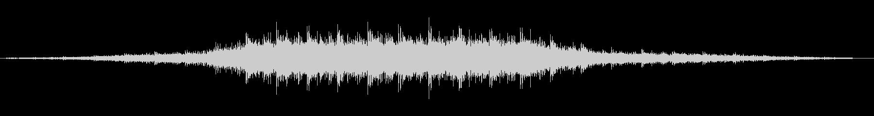 非常に不気味な不気味な幽霊船の音楽...の未再生の波形