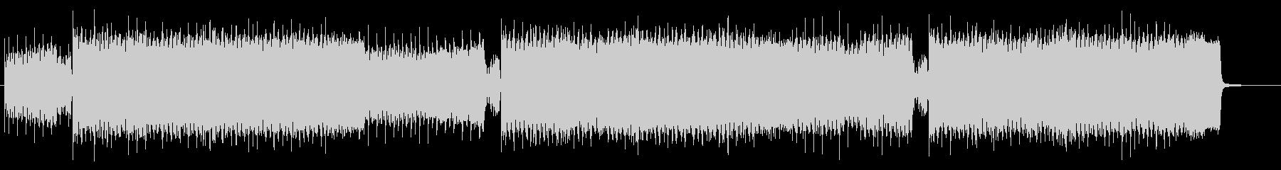 カノン進行の明るいハッピーハードコアの未再生の波形