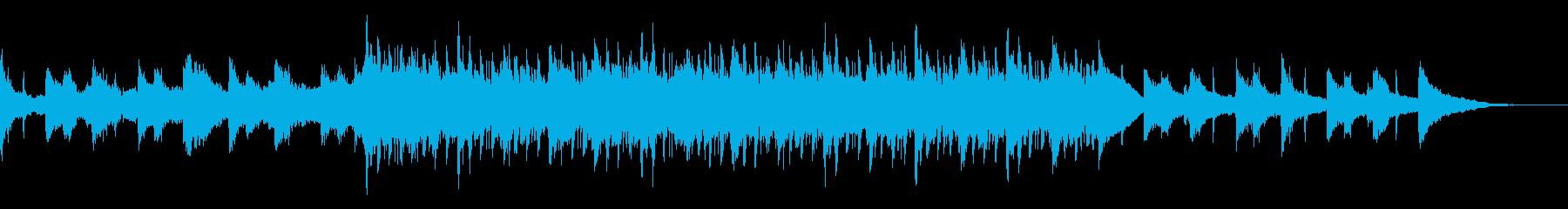 エモいギター×切ないピアノ×4つ打ちの再生済みの波形