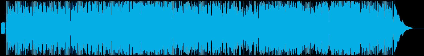 アセトアルデッドヒートの再生済みの波形