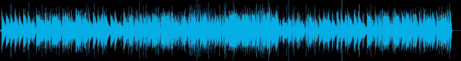 童謡 あめふりのジャズピアノの再生済みの波形